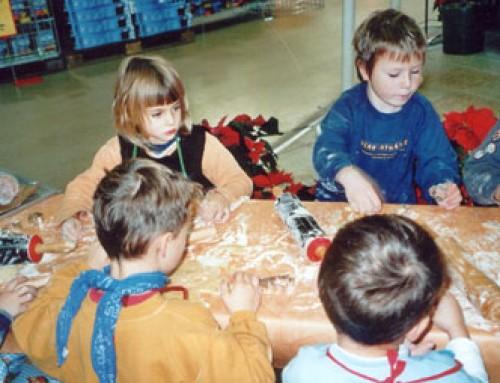Kinderbäckerei – Plätzchen backen