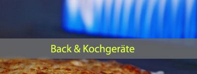 Back- und Kochgeräte